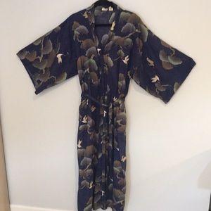 Cotton kimono from Japan Smithsonian Institute M